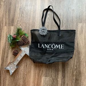 Lancome seethrough tote bag